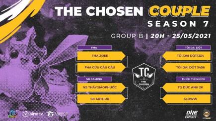 ĐTCL: Kết quả Bảng B của giải đấu The Chosen mùa 7 – The Chosen Couple