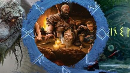 God of War: Ragnarok và sự thú vị trong tấm hình sếp lớn Santa Monica đăng tải