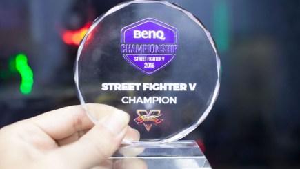 Chung kết giải đấu Street Fighter V BenQ Championship 2016