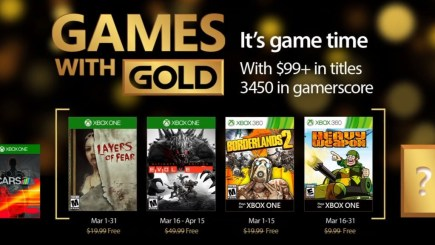 Xbox Live Gold: Games with Gold tháng 3/2017