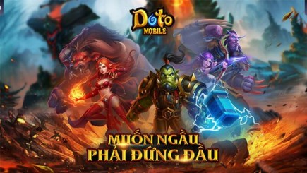 Doto mobile – Game chiến thuật xây dựng style Warcraft 3 sắp ra mắt game thủ Việt