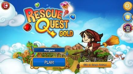 Rescue Quest Gold – Xếp kim cương cứu thế giới phép thuật