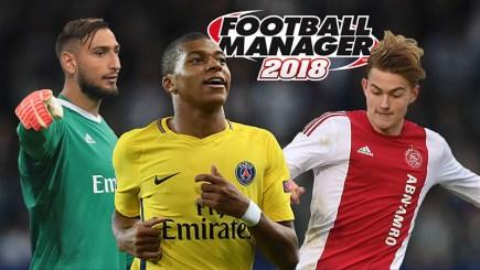 Football Manager 2018: Tổng kết đội hình sao mai tốt nhất cho từng vị trí