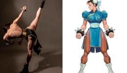 Chun Li đời thường gây sock vì cơ bắp không kém bản gốc