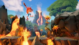 Crash Bandicoot 4: It's About Time – Sau 22 năm lại phá thùng ăn táo