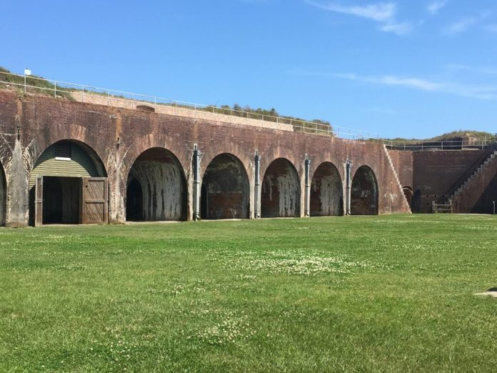 Fort Morgan in Gulf Shores.