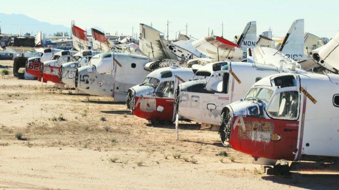 Boneyard d'Aeronef, Davis - Monthan AFB AMARG.