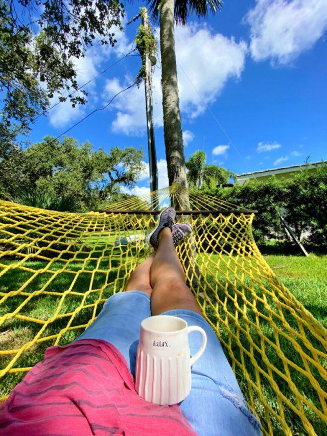 Hammocking in Sebastian, FL.