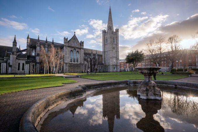 St. Patricks Cathedral, Dublin, Ireland.