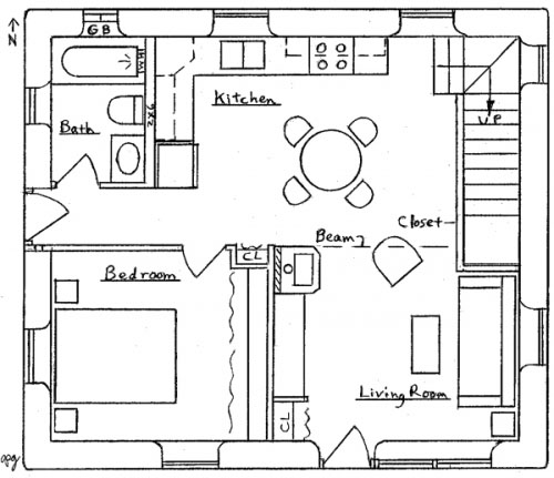 Bungalow Floor Plans and Designs 1920s Bungalow Floor