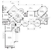 House Plan The Cardiff Sater Design Collection Luxury ...