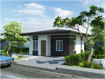 Philippine Design Bungalow Type House