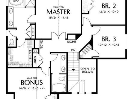 4 Bedroom House Plans Sample House Plans Drawings, house