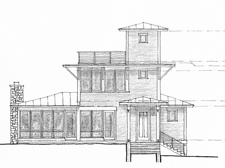 Simple Architecture Design Drawing Architectural Drawing