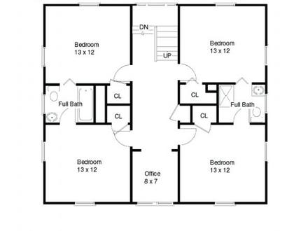 1600 Sq Ft. House 1600 Sq FT Open Floor Plans, square