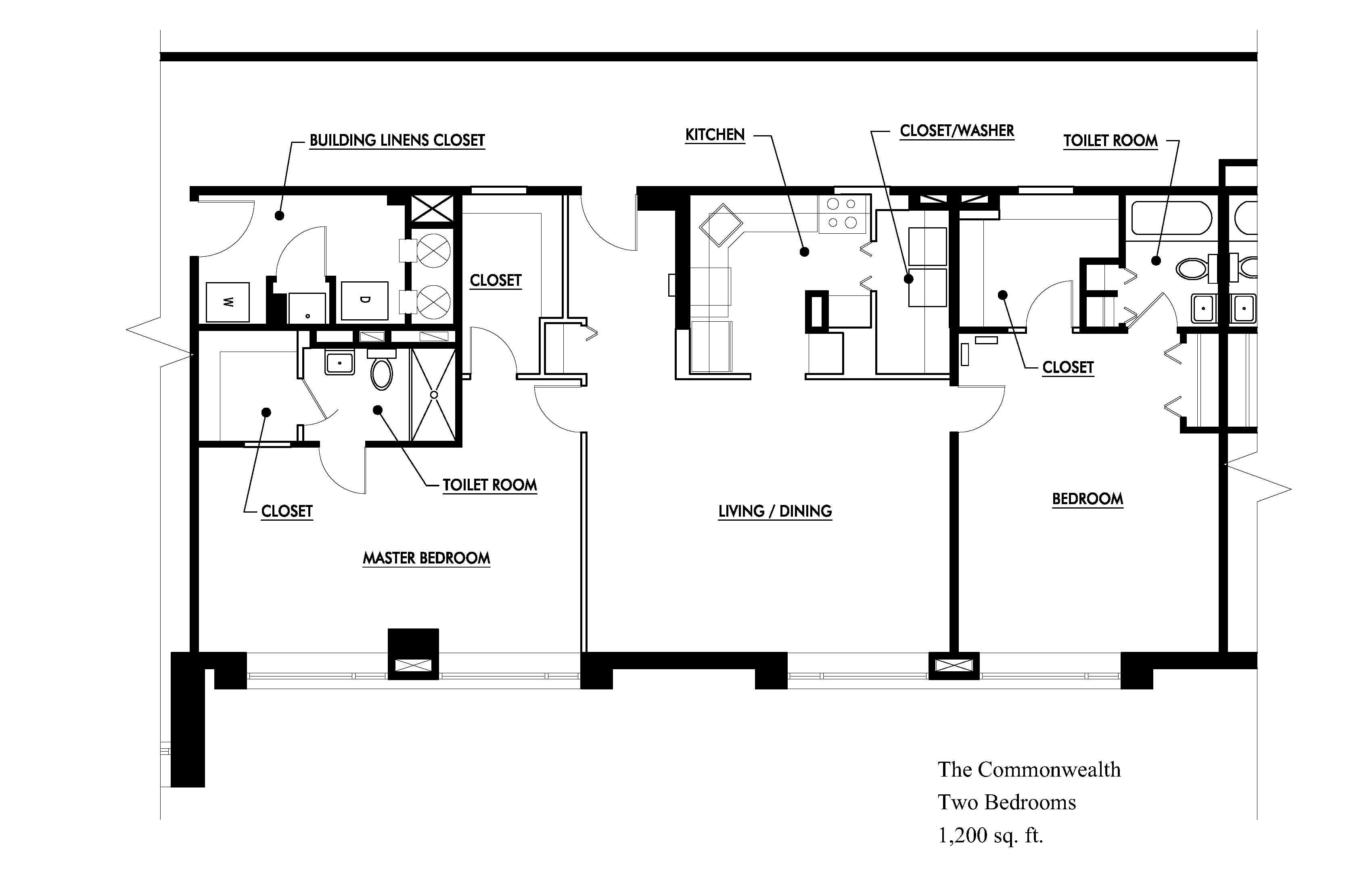 ranch house plans 1200 sq ft