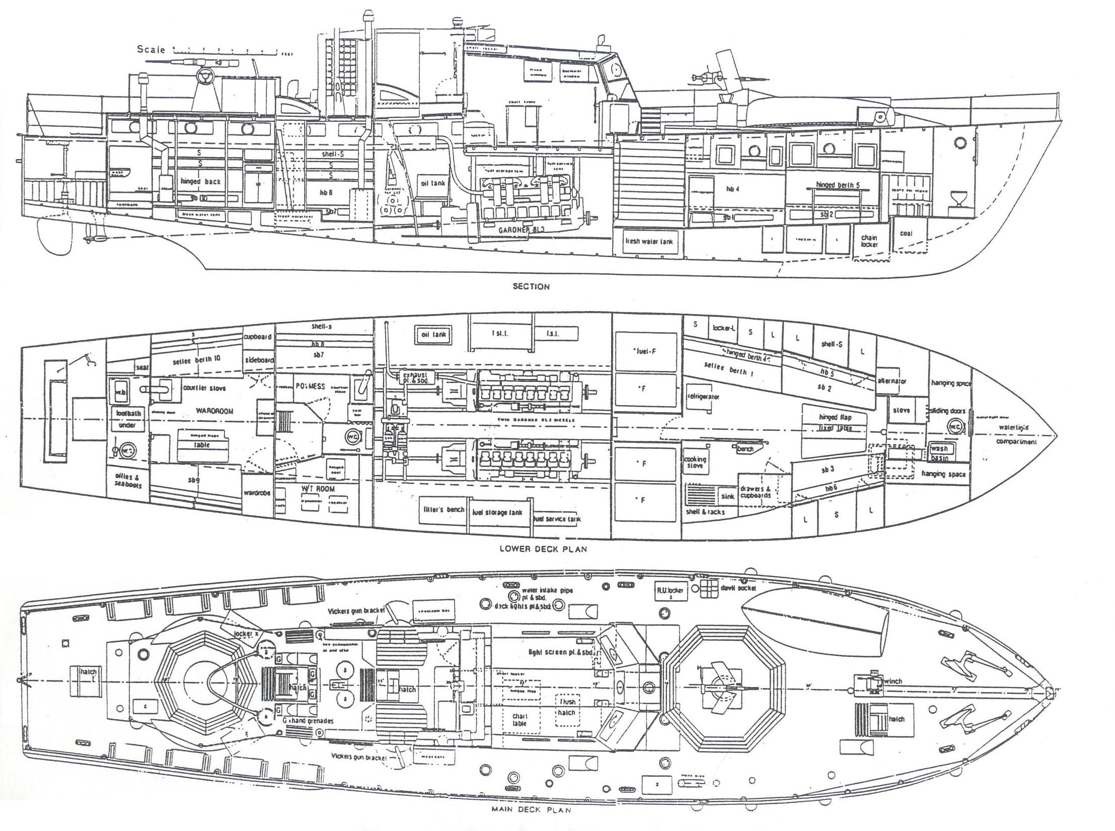 Us Navy Ship Blueprints Ship Plans And Blueprints Boat
