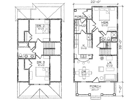 Historic Craftsman Bungalow House Plans Historic Craftsman