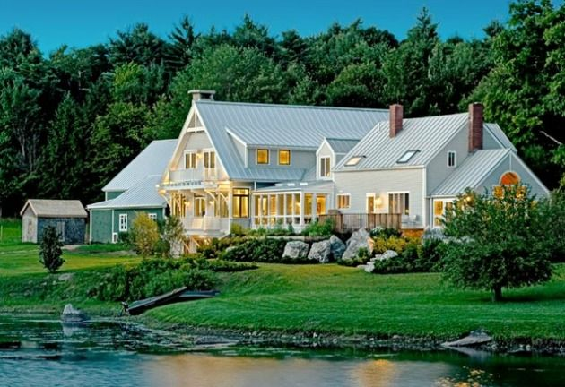 New England Farmhouse Design Classic New England Home