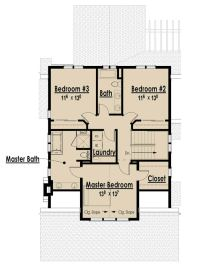 Single Story Open Floor Plans Bungalow Floor Plans without ...