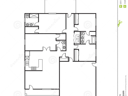 Simple 3 Bedroom House Floor Plans Ranch House, plan house