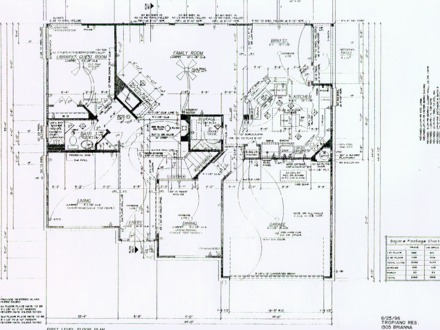 Electrical Plan Symbols House Electrical Blueprints, house