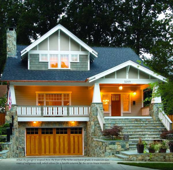 Small Craftsman Bungalow Homes
