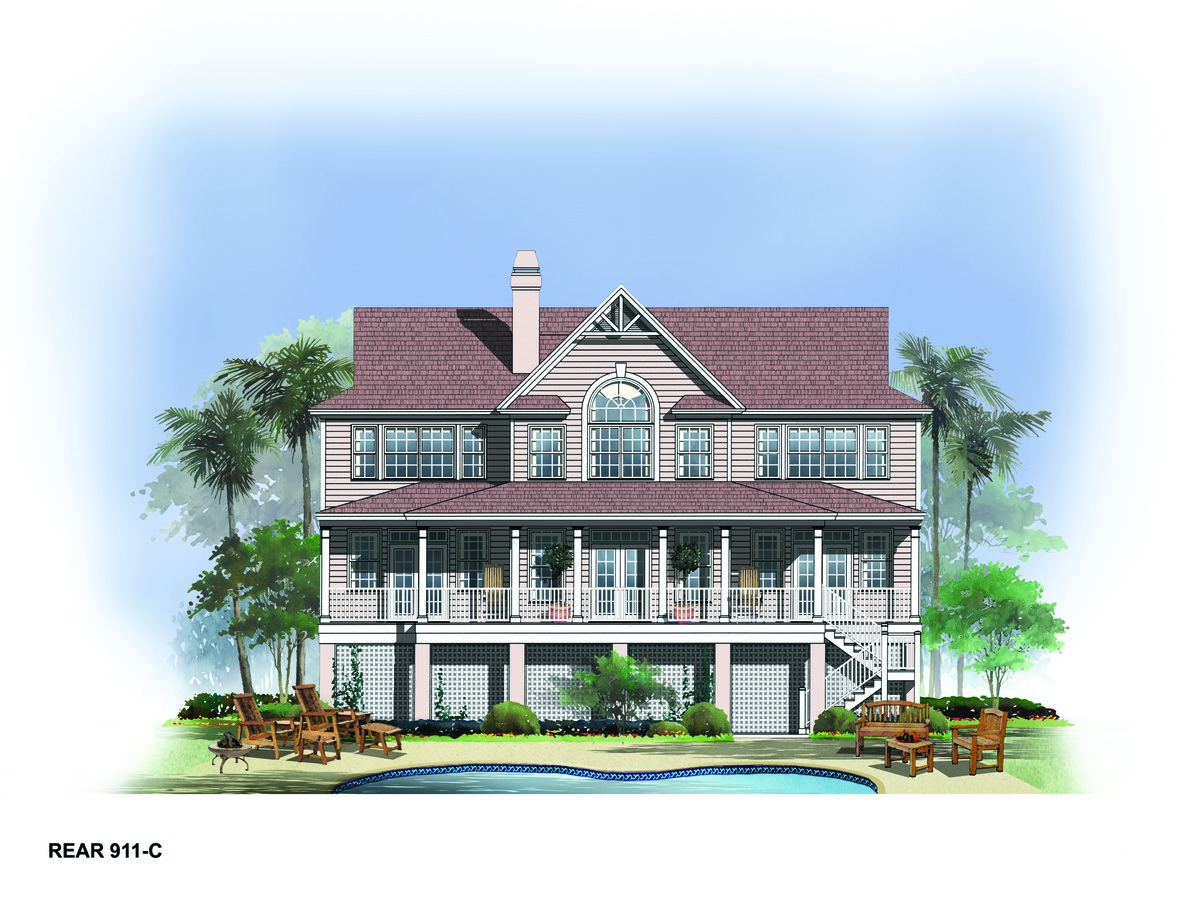 Waterfront House Floor Plans Waterfront Home Design Plans