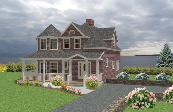 New England Cottage House Plans