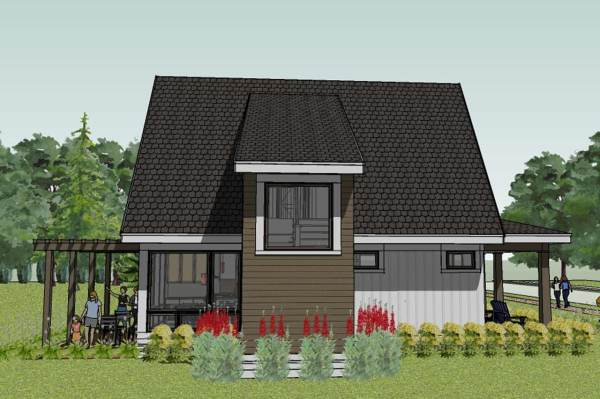Bungalow House Plans Simple Small Floor