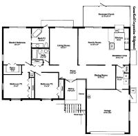 Free Small Home Floor Plans Free House Floor Plans