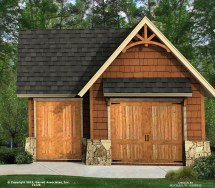 Cottage House Plans with Detached Garage