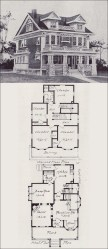plans floor plan houses revival 1908 seattle medieval classical cottage homes antique western victorian builder voorhees romantic anne queen foursquare