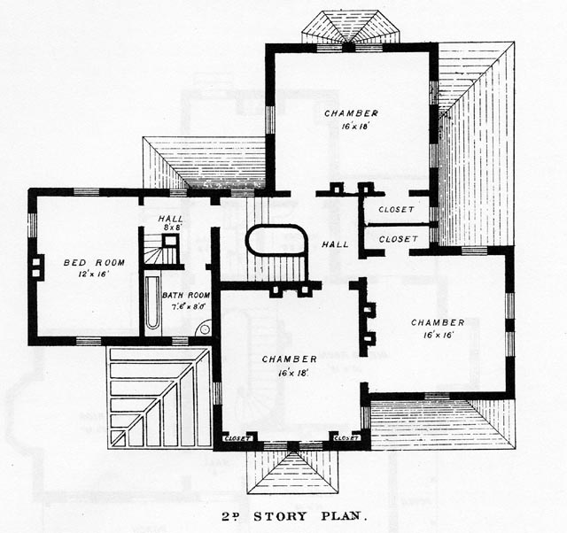 Authentic Victorian House Plans Old Victorian House Floor