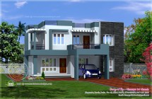 Simple Contemporary House Plans
