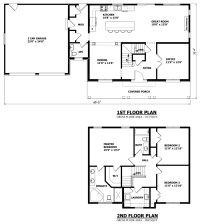 Simple Two-Story House Plans Two Storey House Plans ...