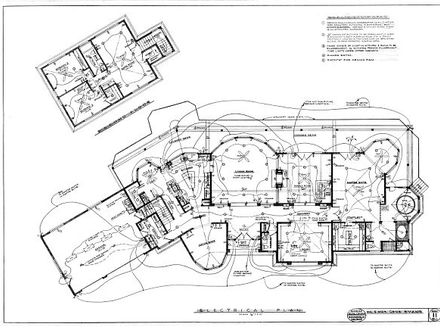 Blueprints for Houses with Open Floor Plans Blueprint