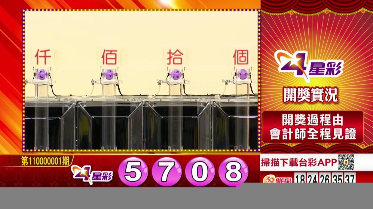 💰4星彩中獎號碼💰第110000001期 民國110年1月1日 《#4星彩 #樂透彩開獎號碼》