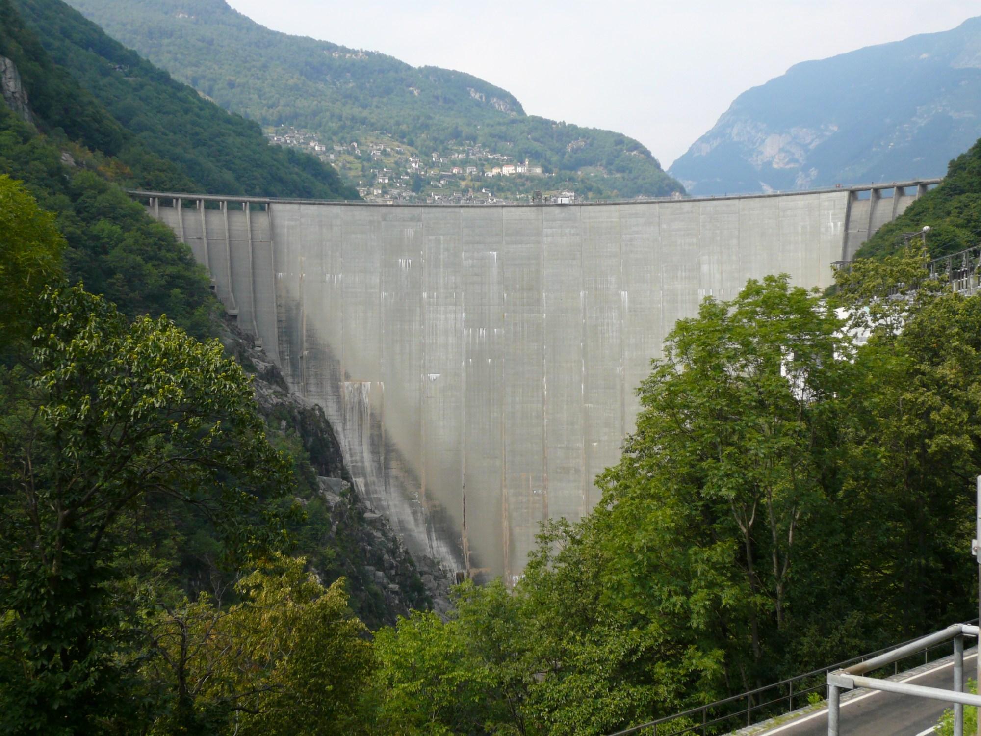 hight resolution of gordon dam diagram