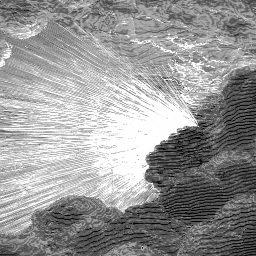 Creation of Light, detail