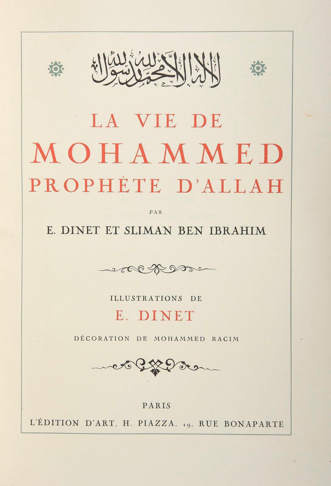 La Vie Du Prophète Mohamed : prophète, mohamed, File:La, Mohammed,, Prophète, D'Allah.jpg, Wikimedia, Commons