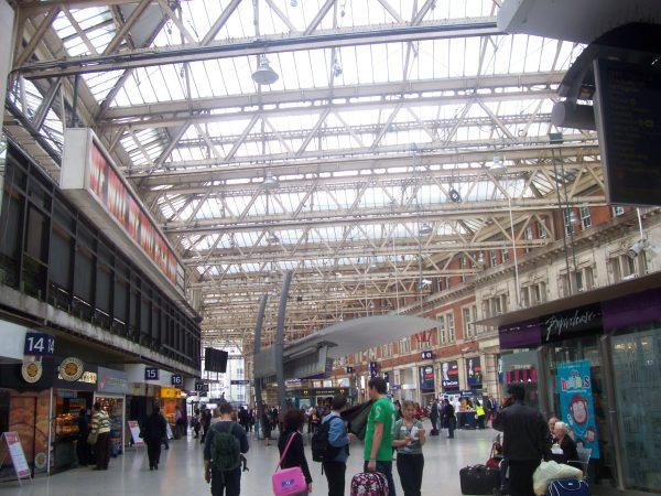 File Main Concourse Of London Waterloo