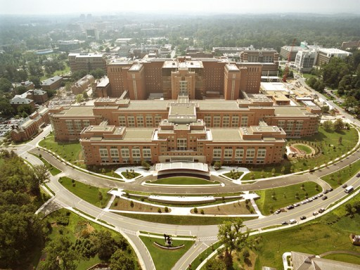 NIH Clinical Research Center aerial