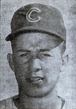 English: Chicago Cubs third baseman Ron Santo ...
