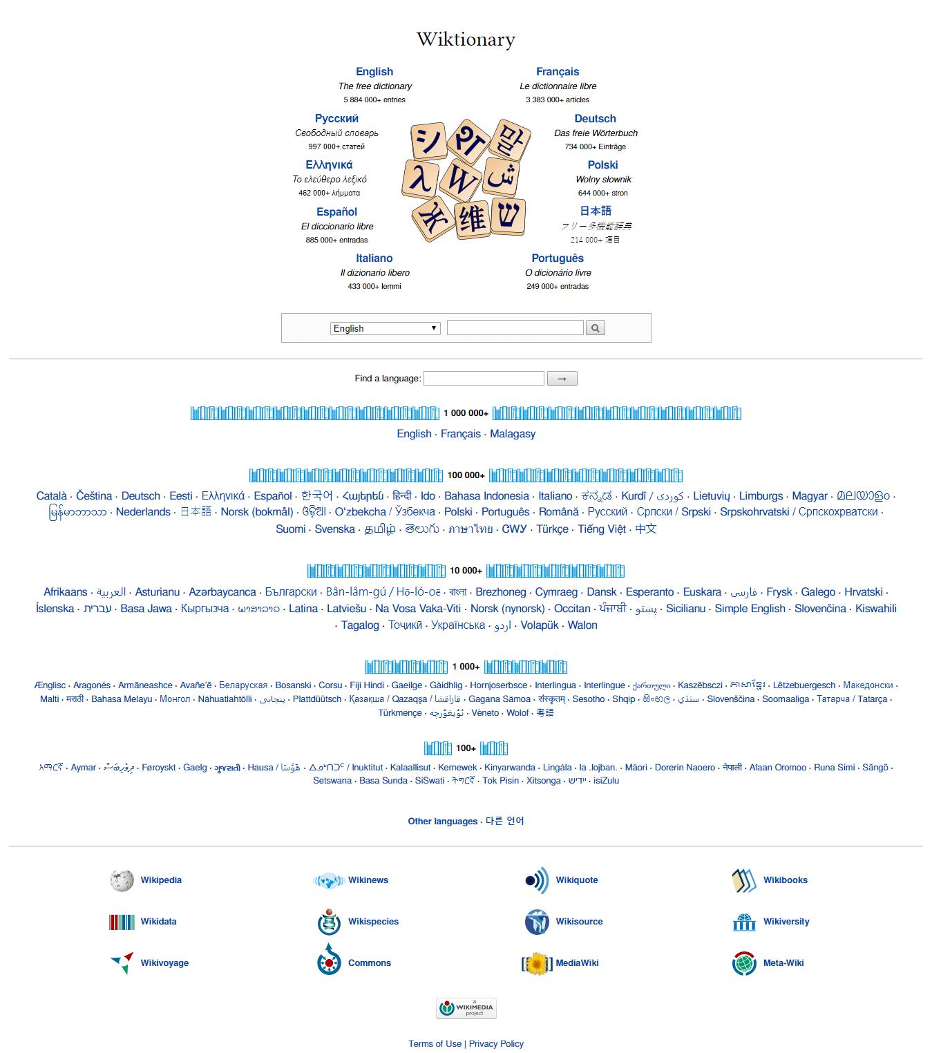 Wiktionary - Wikiwand