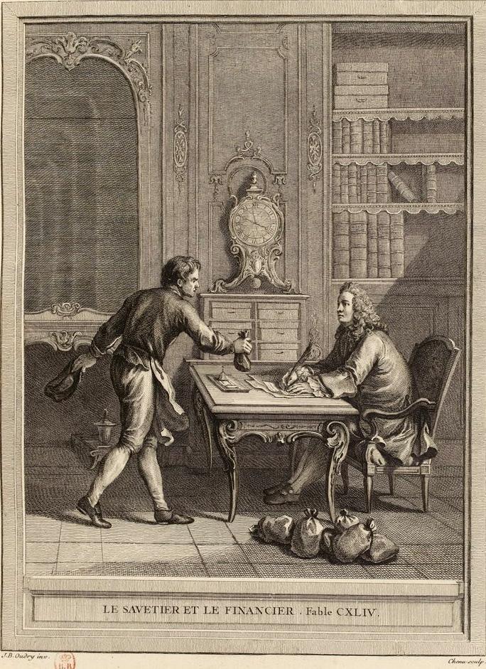 Le Savetier Et Le Financier : savetier, financier, File:Chenu-Oudry-La, Fontaine-Le, Savetier, Financier.jpg, Wikimedia, Commons