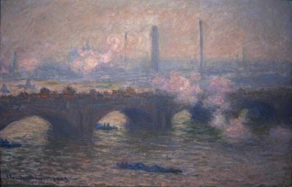 File Claude Monet - Waterloo Bridge Gray