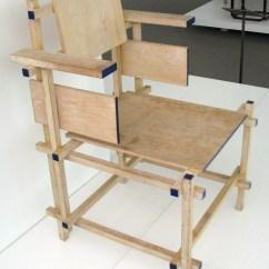Gerrit Thomas Rietveld Chair Layout Design File Dining 1919 Jpg