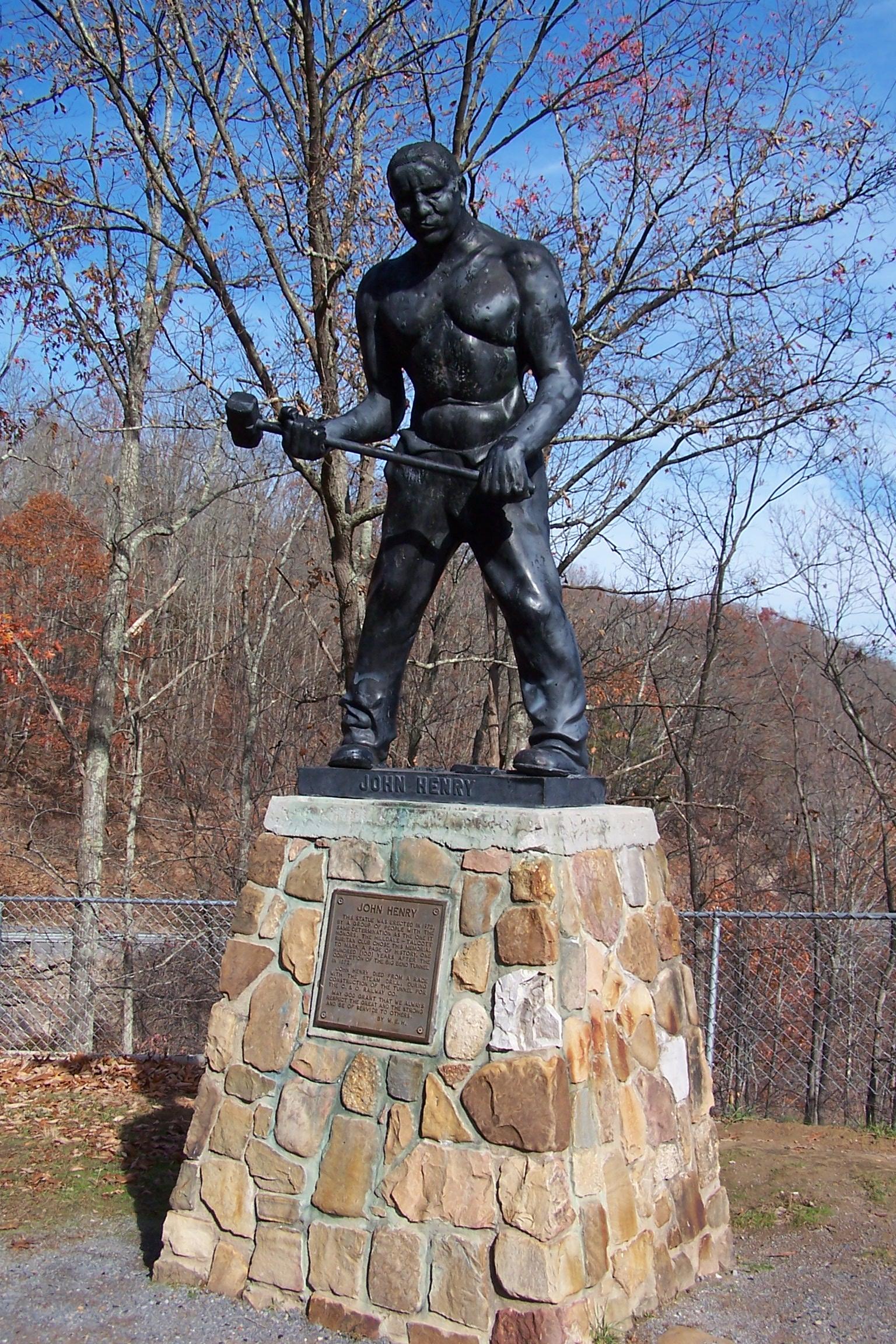 File John Henry Statue