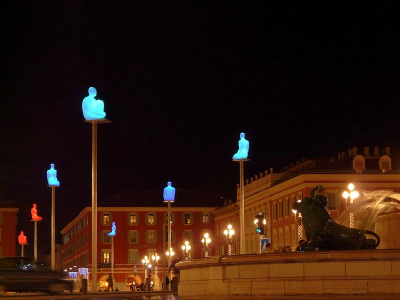 Jaume plensa beyond limits that 39 s how the light gets in - Place massena nice ...